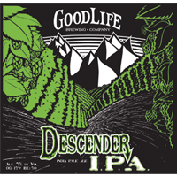 Descender IPA GoodLife Brewing