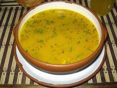 sopa de hojuelas de quinua