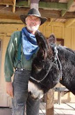Old Miner &amp; His Burro