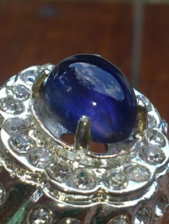 natural iolite atau safir air