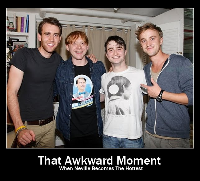 That Awkward Moment When Neville Longbottom Becomes The Hottest