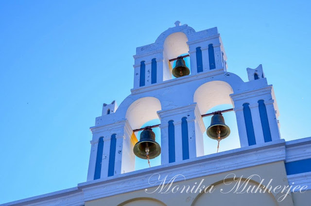 Oia Santorini Greece by Monika Mukherjee
