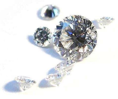 bucăți de diamant