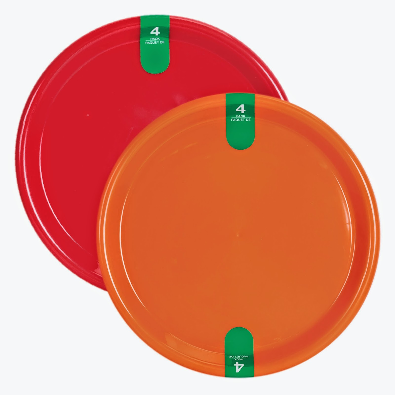 Dollar Tree\u0027s Summer Fun plastic products include reusable plates bowls tumblers and serving trays.  sc 1 st  Condo Blues & Condo Blues: A Fun and Frugal Summer Table with Dollar Tree ...