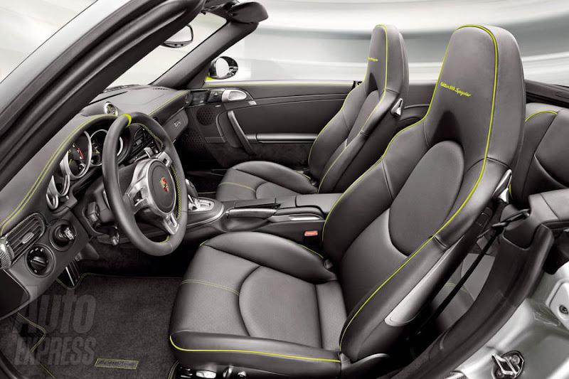 Porsche  918 Spyder Supercar Hybrid Interior