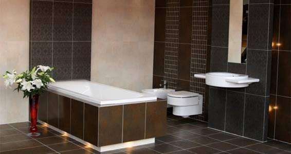 Baño Chocolate Blanco:Baños color marrón – Colores en Casa
