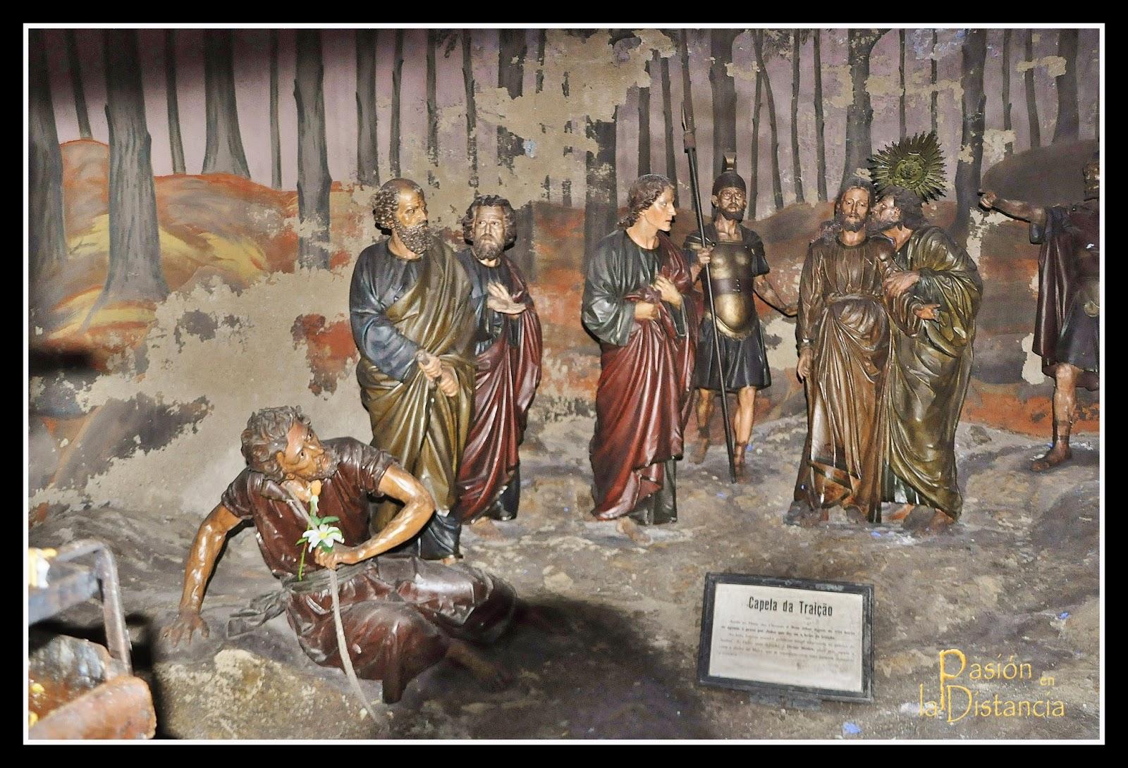 Capillas de La Pasión Santuario del Bom Jesú do Monte en Braga