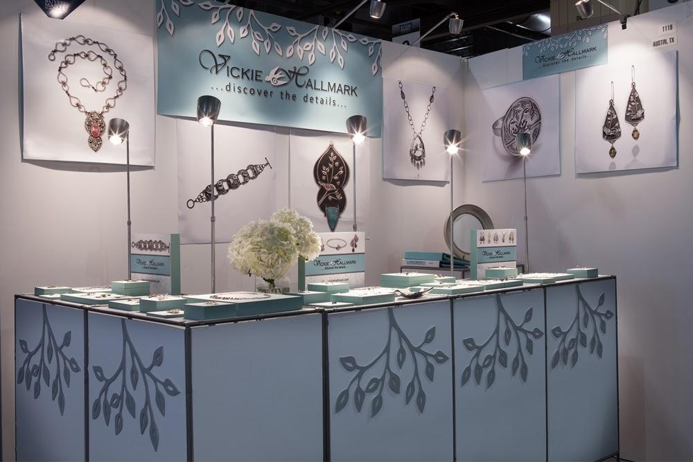 Jewelry Exhibition Booth Design : Vickie hallmark jewelry design