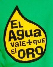 El agua vale más que el oro