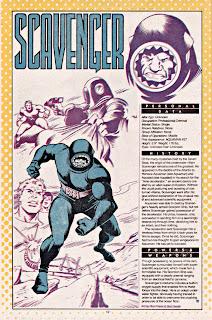 Scavenger (ficha dc comics)