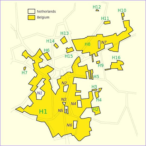 Baarle-Nassau dan Baarle-Hertog