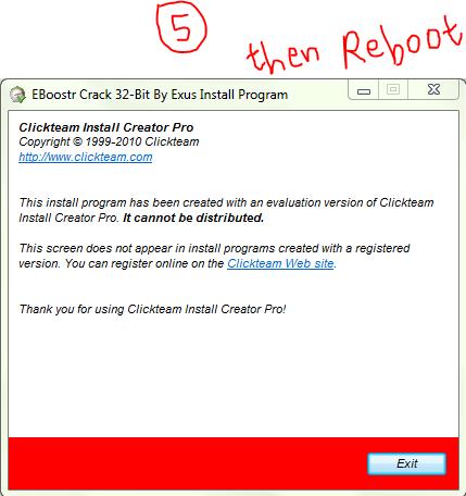 INSTRUCTIONS. eBoostr PRO v4 + Crack (Link 1). eBoostr PRO v4