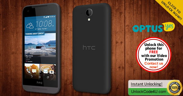 Factory Unlock Code HTC Desire 520 from Optus Yes