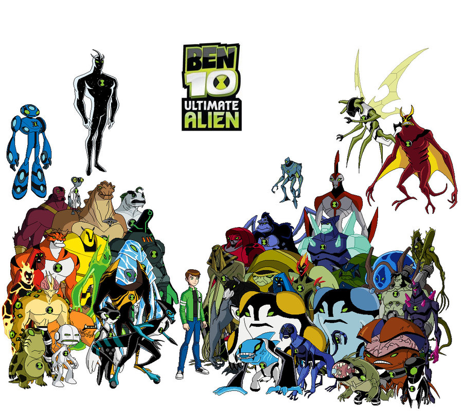 Ben 10 Ultimate Alien Es Una De Las Series De  Man Of Action