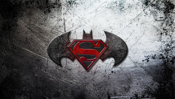 Batman Vs Superman Logo Wallpaper HD Background