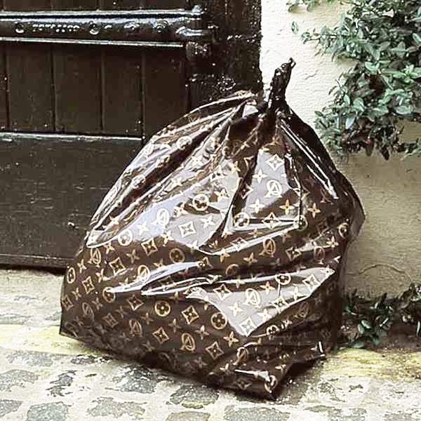 Louis Vuitton Trash Bags Gallery That The Whole World Noticed How Ordinary Their Trash Bags Were