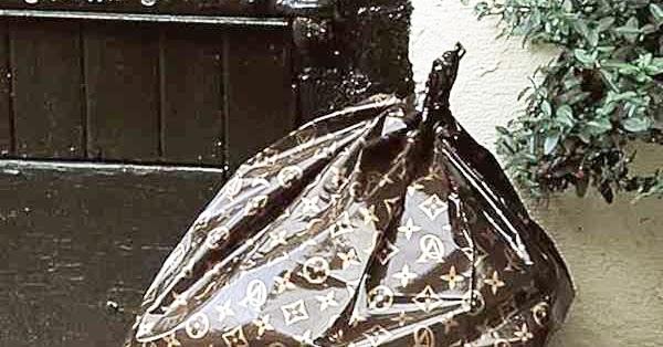 Louis Vuitton Garbage Bag claude el khal: zbélé signée