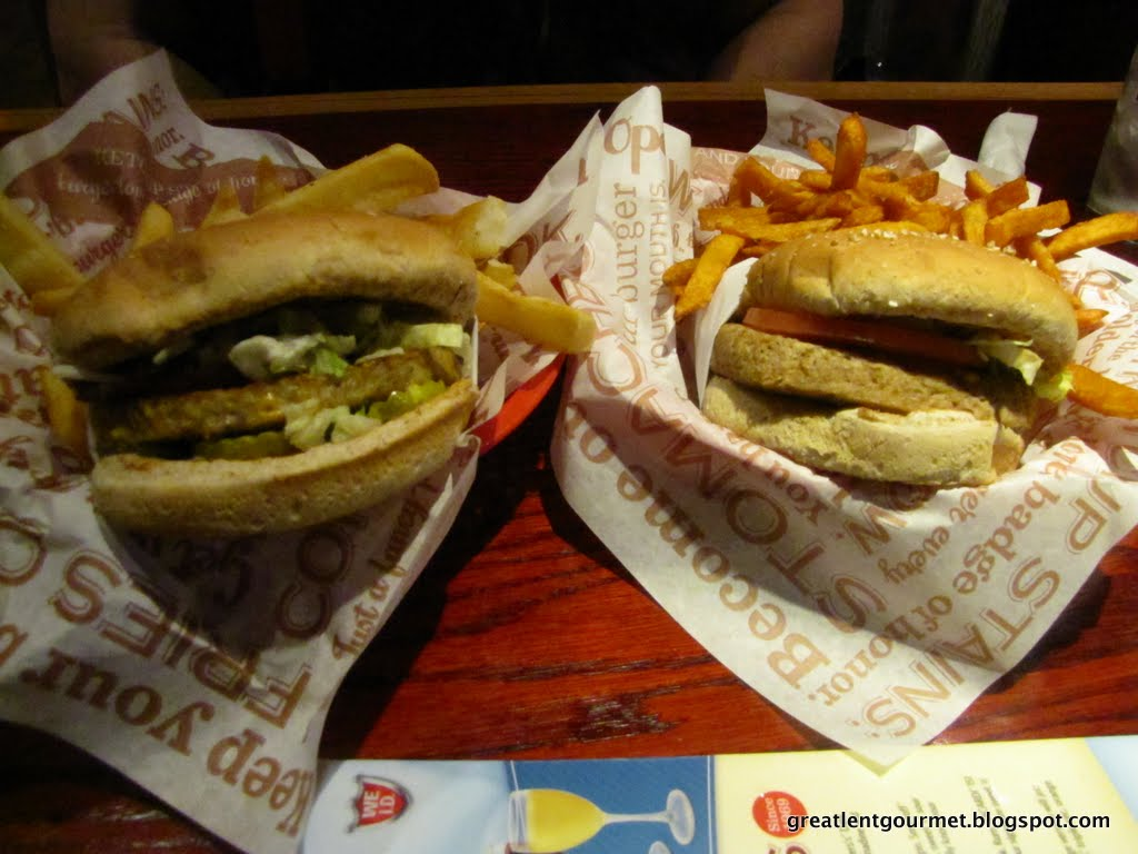 Great Lent Gourmet: Day 24: Red Robin Gourmet Burgers Review