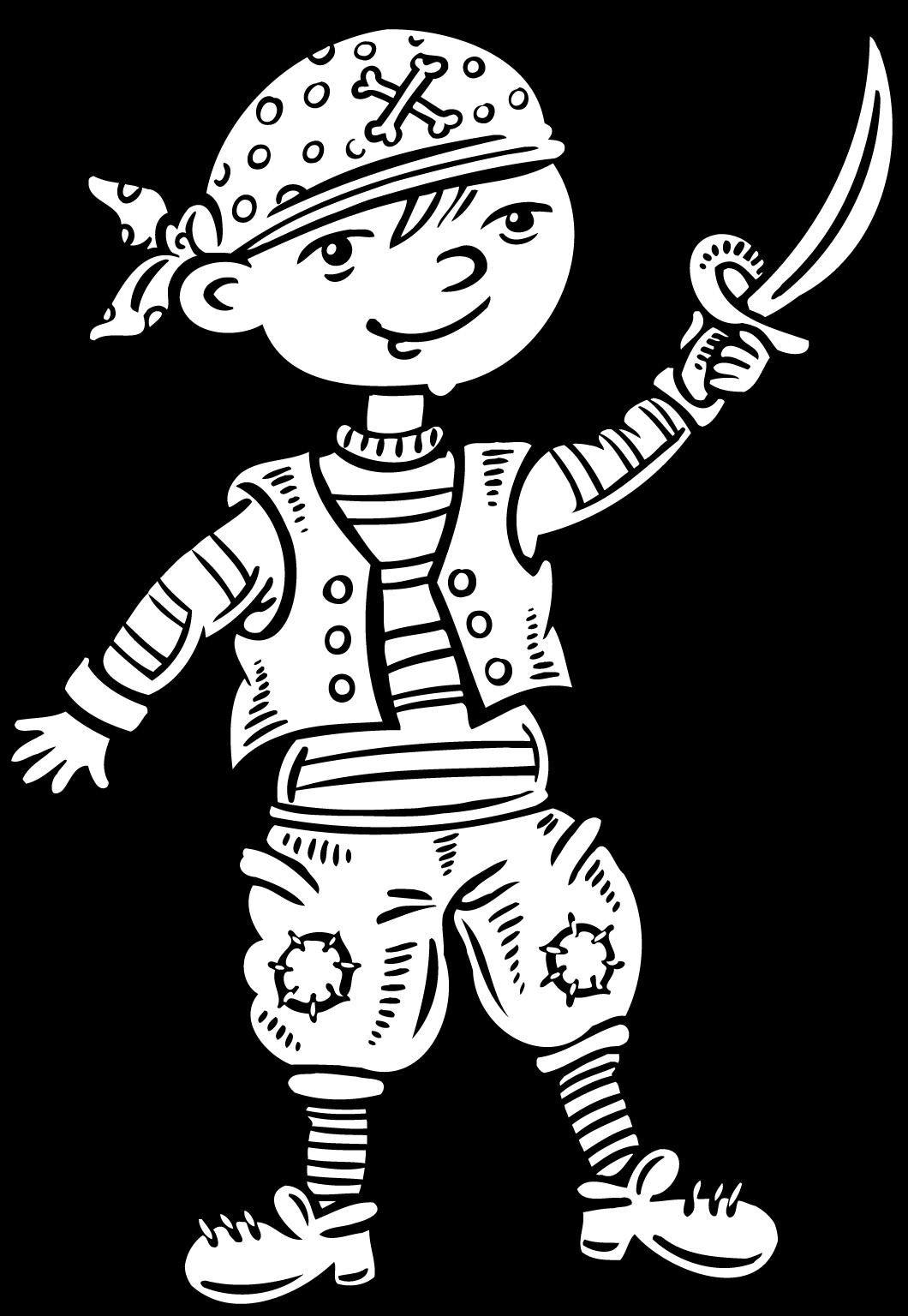 Old Fashioned image regarding pirates printable
