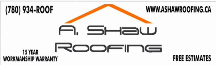 A. Shaw Roofing The Name Alberta Trusts