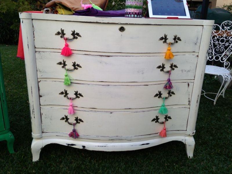 Vintouch muebles reciclados pintados a mano - Reciclado de muebles viejos ...
