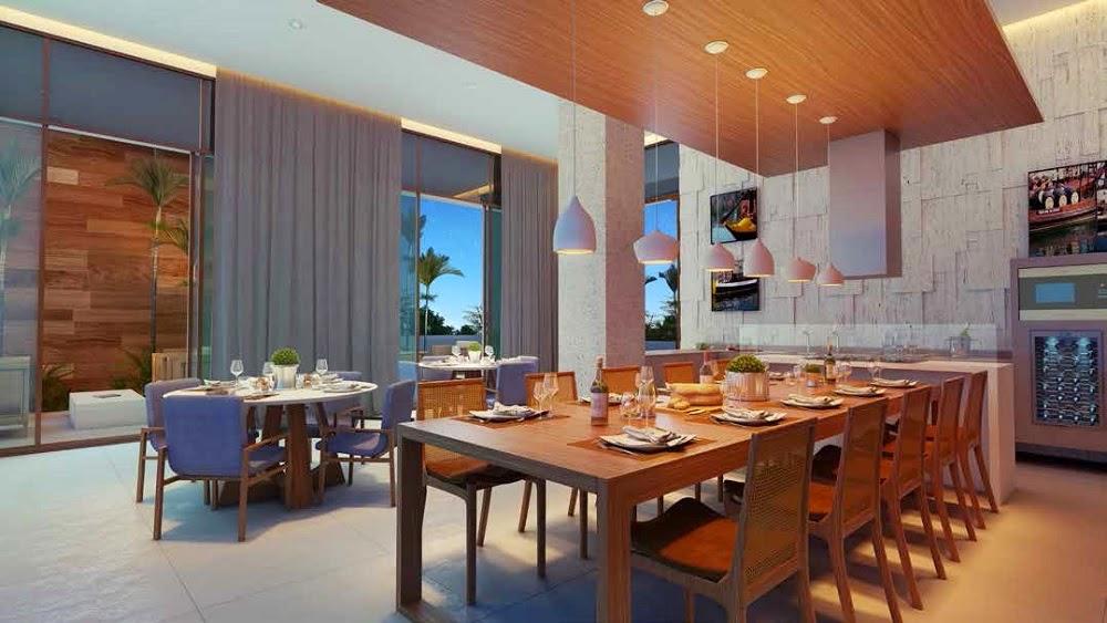 D´Azur Jaguaribe Salvador - espaço gourmet