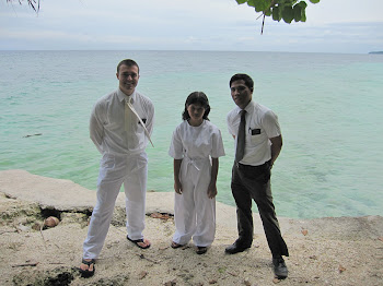 My First Baptism in the Ocean