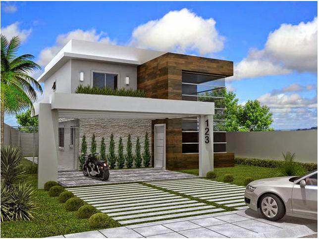 affordable decor salteado blog de decorao e arquitetura fachadas de with fachadas de casas - Fotos De Fachadas De Casas