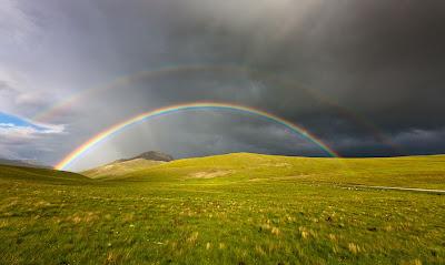 Arcoiris en las praderas - Rainbow