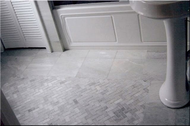 Tiling Bathroom Floor