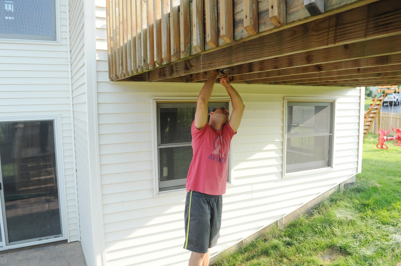 to jbeedesigns information outdoor about build how swing porch diy deck plans