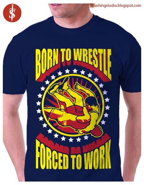 Wrestling Theme T-Shirt Tee Shirt