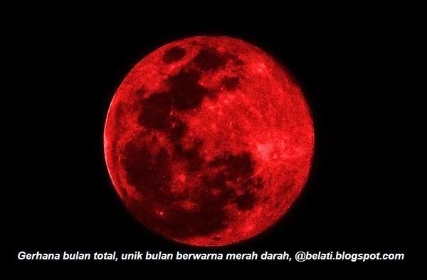Malam Ini Ada Gerhana Bulan Total