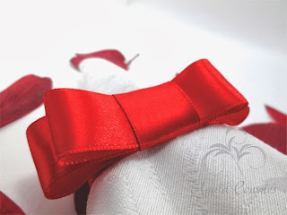 Porta Guardanapo com Laço Chanel, Porta guardanapo para Casamento, Porta guardanapo, laço chanel