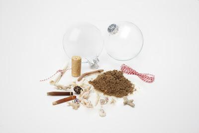 Regalos originales: bolas de recuerdos en Recicla Inventa