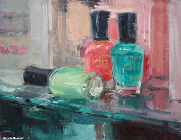 mary maxam - paintings polish