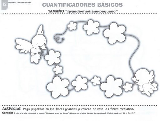 CoSqUiLLiTaS eN La PaNzA BLoGs: FICHAS PARA TRABAJAR LOS TAMAÑOS