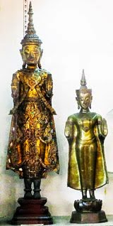 Buddha Statues in the Bangkok National Museum