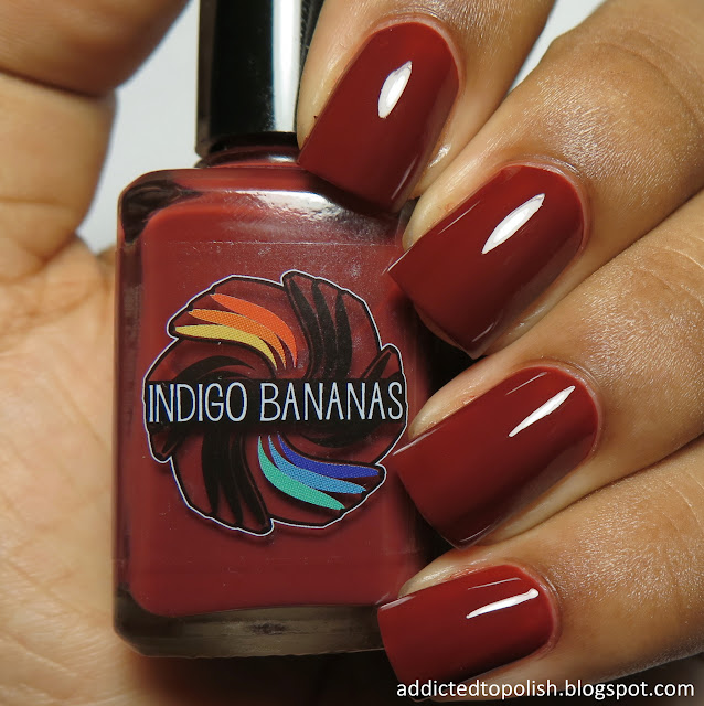 indigo bananas scarlet night creme a la mode