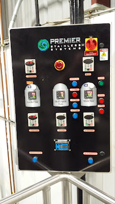 control board for mash tun