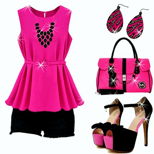 Best Contrast Clothing Fashion for Girls