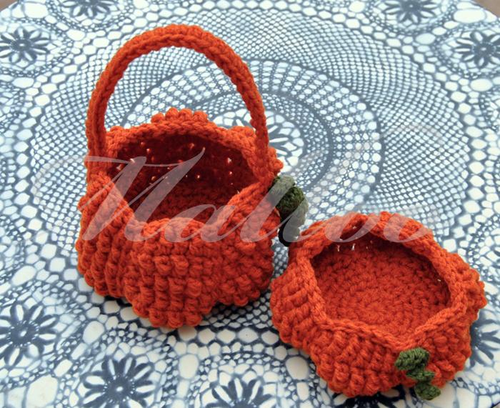 My Hobby Is Crochet Halloween Pumpkin Basket Free Crochet Pattern