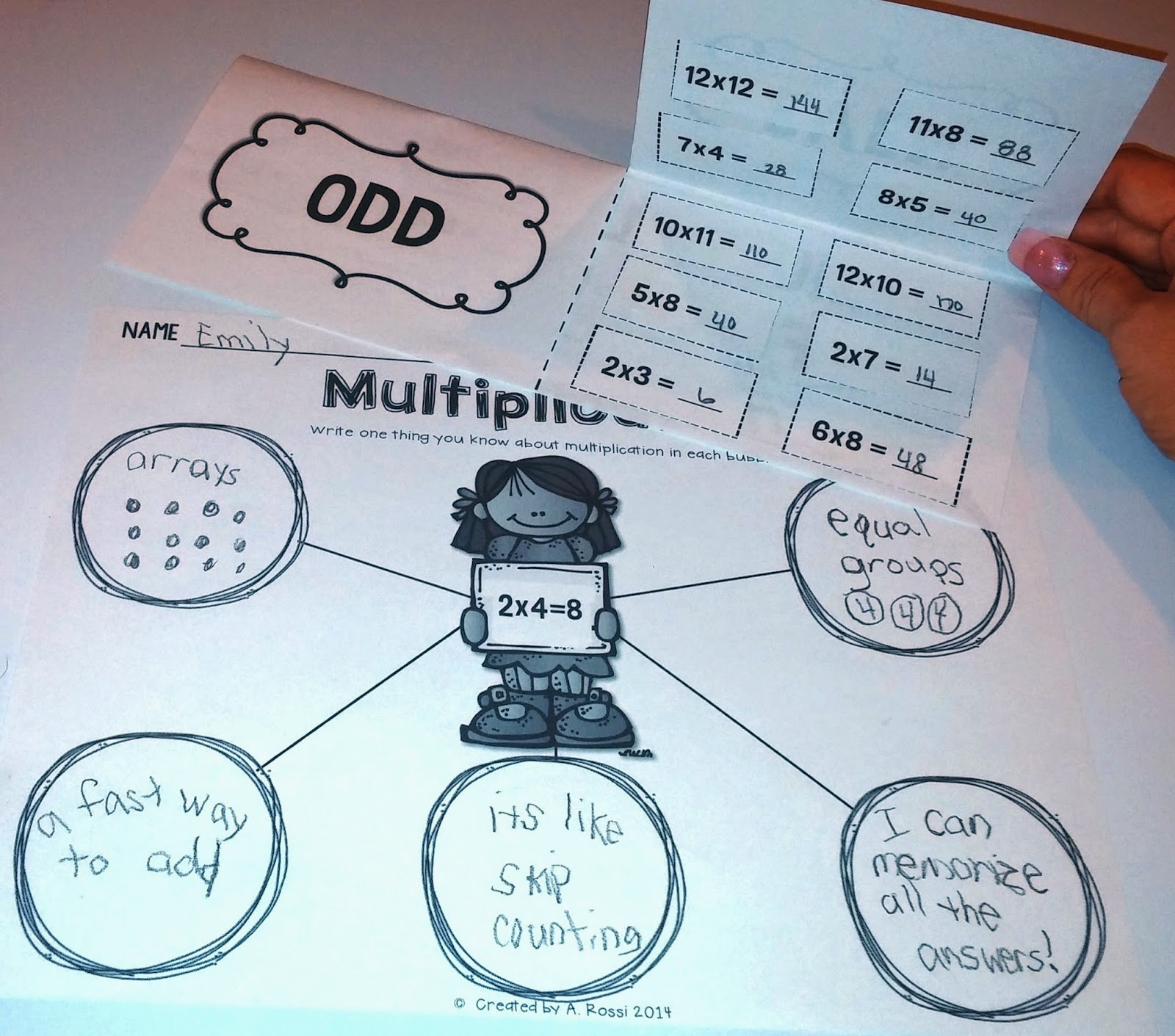 Teacher times two skip counting arrays multiplicationoh my i really love the bubble map because it gets the kids thinking about what they already know it builds their confidence as you dive into multiplication sciox Image collections