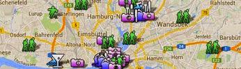 Über die Hamburg Karte suchen ... ↓