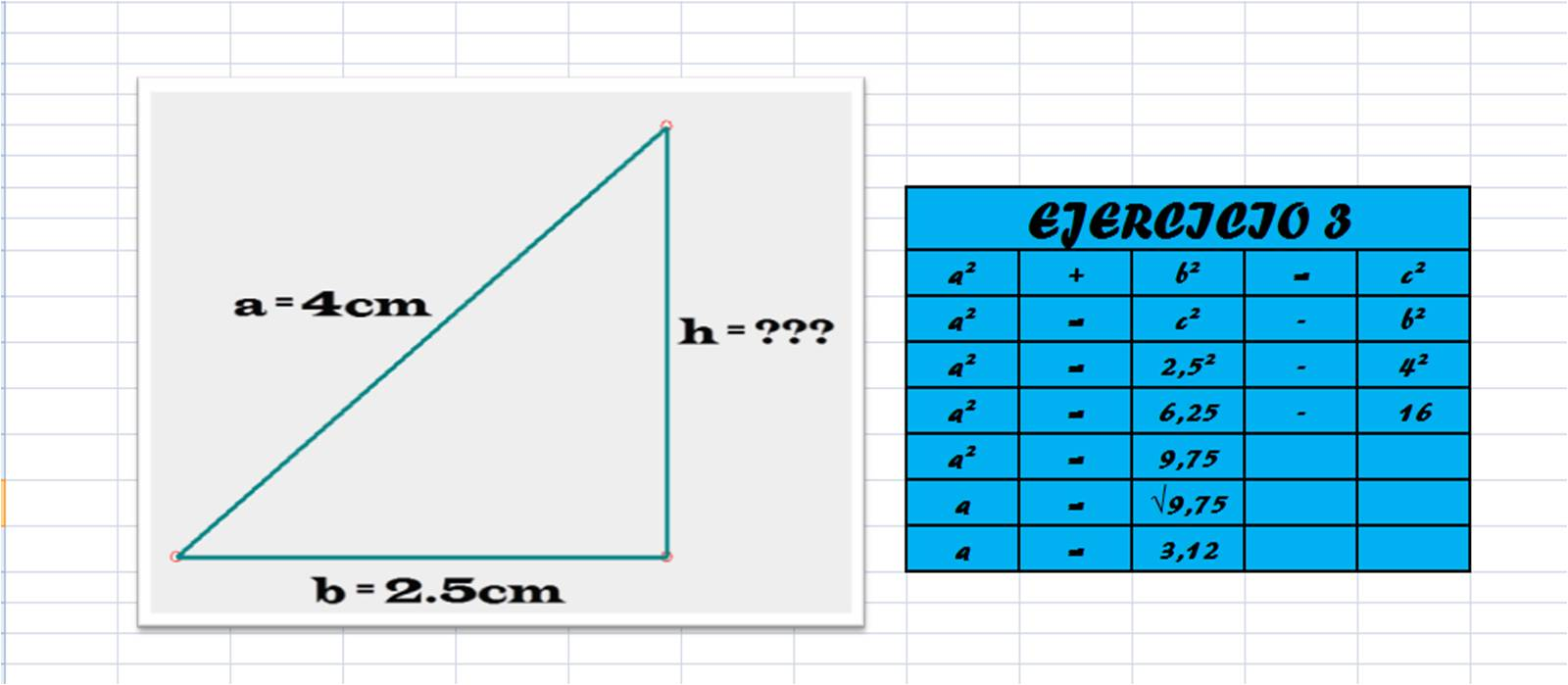 Nicolas martinez vargas 11 02 1 3 6 teorema de pitagoras - Tamano televisor distancia ...