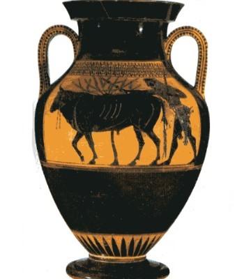 arte semplice e poi gli stili nei vasi greci e le