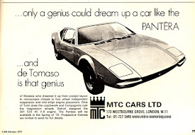 APRIL'S TOP COLUMN: The beautiful copy of the 1971 Pantera Print Ad...