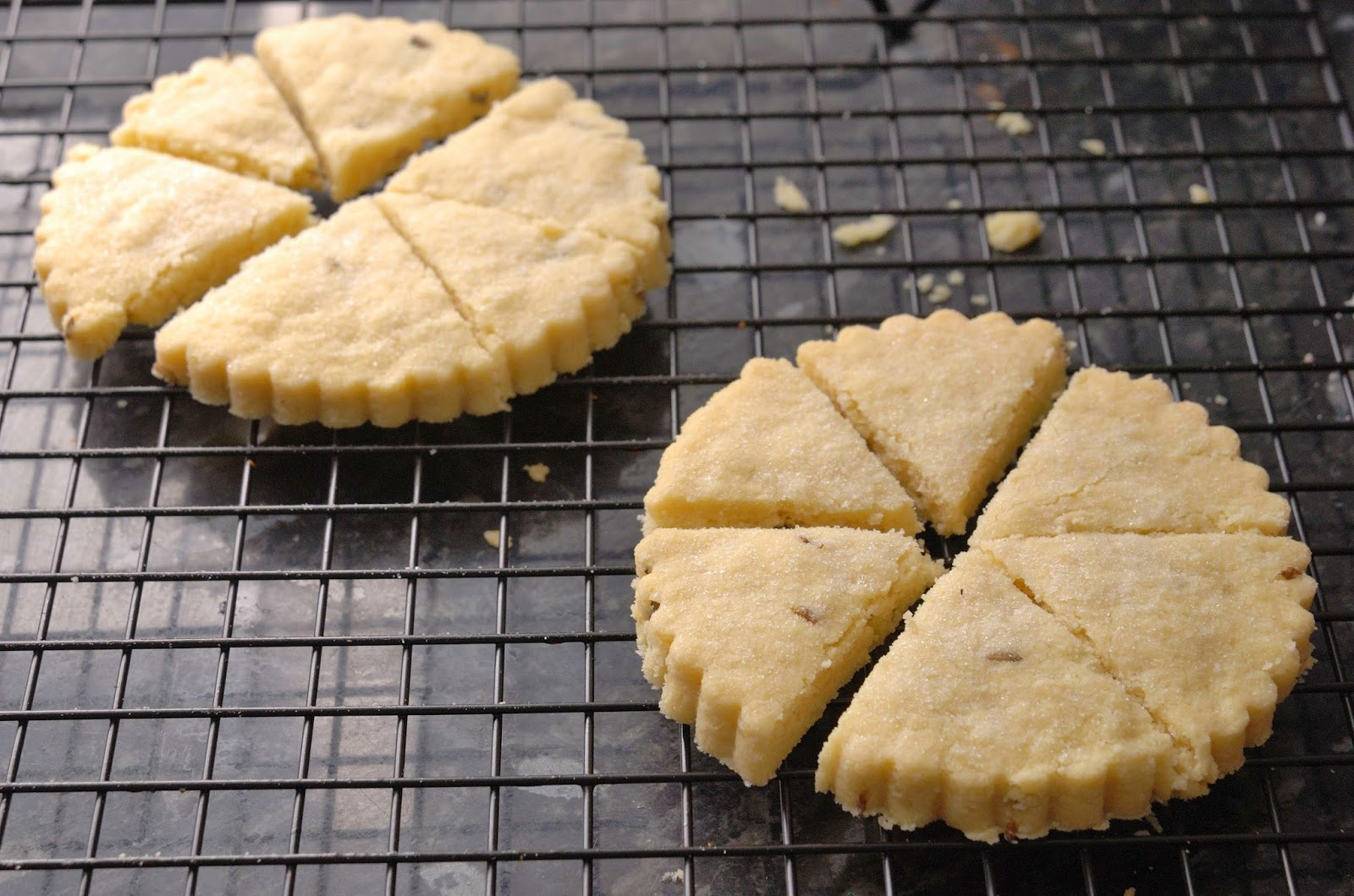 recette shortbread écossais à la lavande