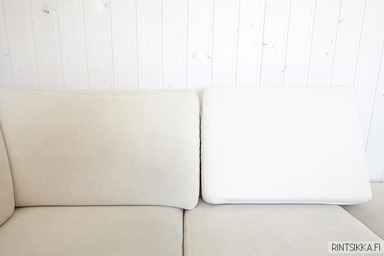 Sohvan puhdistus kotikonstein