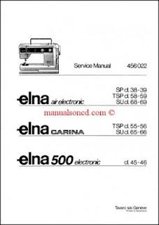 elna elina 40 instruction manual